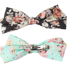 M MISM Girls Fashion 22cm Top Knot Bow Hair Clips Popular Style Bow-knot Barrettes For Women Hairgrips Female Hairpins Headwear(China)
