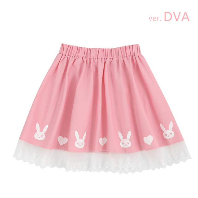 Stock Game Ow Figure D Va Short Skirt Pink Summer Wear Y
