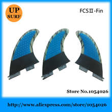 FCS II G5 Fins Blue Honeycomb Carbon Fin Surf Fins FCS2 Surfboard Fin Hot Sale