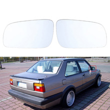 Car Door Mirror Heated Glass White Side for Volkswagen VW Jetta Golf MK4