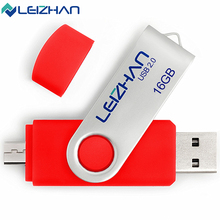 LEIZHAN USB Flash Drive 2.0 4G Metal USB Flash Disk 64G 8GB USB Pen Drive Memory Stick 32G 16GB Storage Pendrive High Speed(China)