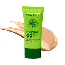 PNF Brand Fine Smooth BB Cream 3 Type Cosmetic Face Base Aloe Vear Cream Whitening Concealer Effect