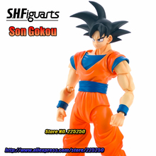 Japan Anime DRAGONBALL Dragon Ball Z/Kai Original BANDAI Tamashii Nations S.H.Figuarts / SHF Exclusive Action Figure -  Son Goku