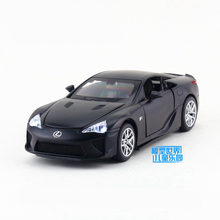 1:32 Scale/Diecast Metal Model/Lexus LFA Super Car/Sound & Light/For Children's gift/Educational Collection/Pull back Toy(China)