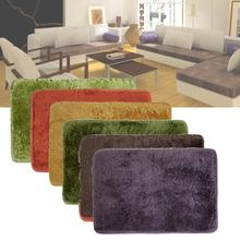 Non-slip Carpet Bedroom Living Room Rectangle Mats Toilet Tapete Para Banheiro Bathroom Rug Bath Pad Bathroom Products