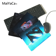 MaiYaCa Blue Style Dota2 LOGO Rubber Soft gaming mouse Cool Games black mouse pad 220mmX180mmX2mm&250mmx290mmx2mm