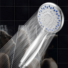Large 5- Mode Function Chrome Bath Shower Head Handset Handheld Anti-limescale Universal Hot Sale Free Shipping