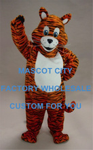 Tiger Cub Mascot Costume Adult Size Animal Baby Tiger THEME mascotte Mascota Outfit Suit Fancy Dress Cosply Costumes SW1089(China)