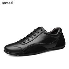 2017 Brand Arrival Low Price Mens Breathable High Quality Casual Shoes Soft Genuine Leather Fashion Flats Designer sneakers 11