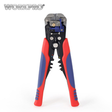 WORKPRO Automatic Wire Stripper Multifunction Professional Wire stripping Tool for Electrical Cable Cutting Stripping Crimping(China)