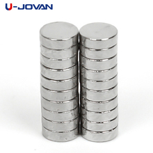 U-JOVAN 20pcs/lot 3 x 1mm Powerful Super Strong Rare Earth Neodymium Disc Magnets 3x1 mm n35 Small Round Magnet(China)