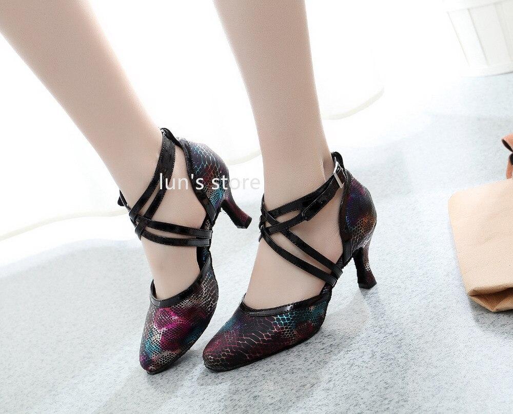Closed Toe Ballroom Latin Dance Shoes  Salsa Tango Dance Shoes Latin Dance Shoes New Arrival<br>
