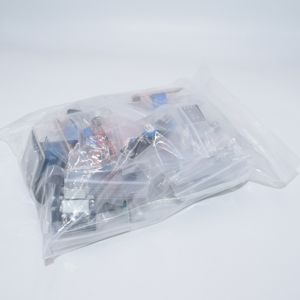 Sensor kit 37 in 1 Sensor Kit /RRGB/joystick/photosensitive/Sound Detection/Obstacle avoidance/buzzer 3