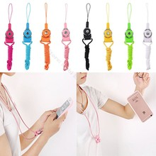 For Iphone 6 Oneplus 5/3/3T Mobile Cell Phone Neck Hand Strap Keyring Lanyard Cord Holder Finger Hang Rope Keychain Camera Line(China)