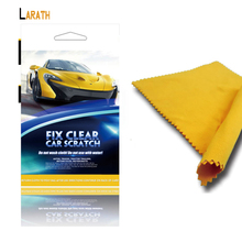 LARATH Scratch Polish Cloth for Car Light Paint Scratches Remover Scuffs on Surface Repair