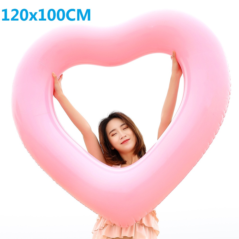 2018-Red-Pink-Sweet-Heart-Shape-Swimming-Ring-Giant-Sexy-Inflatable-Pool-Float-Love-Water-Fun