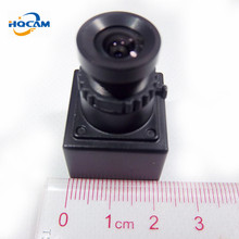 HQCAM Wholesale Size 20x20mm 550tvl Sony CCD Cheap Smallest Camera CCTV For FPV with 3.6mm board lens for Lots 50Per piece(China)