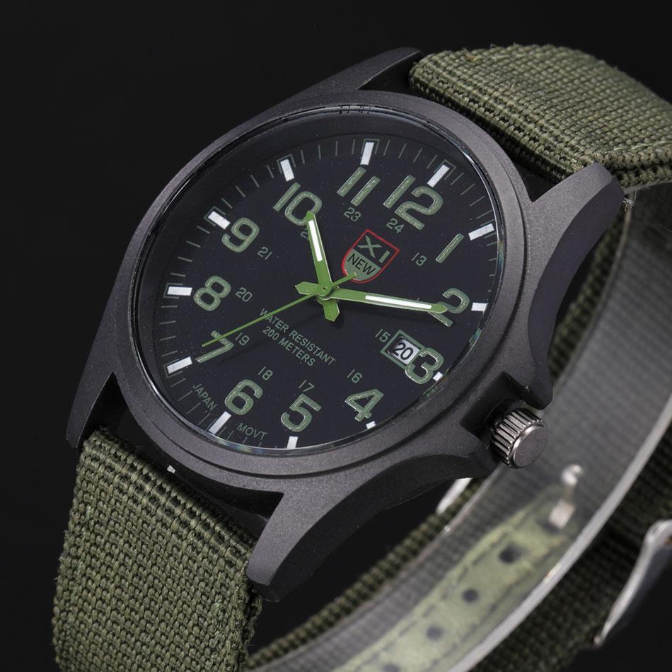 Brand Sport Military Watches Fashion Casual Quartz Watch Nylon Strap Ditital Men Luxury Mens Wrist Watches Relogio Masculino<br><br>Aliexpress