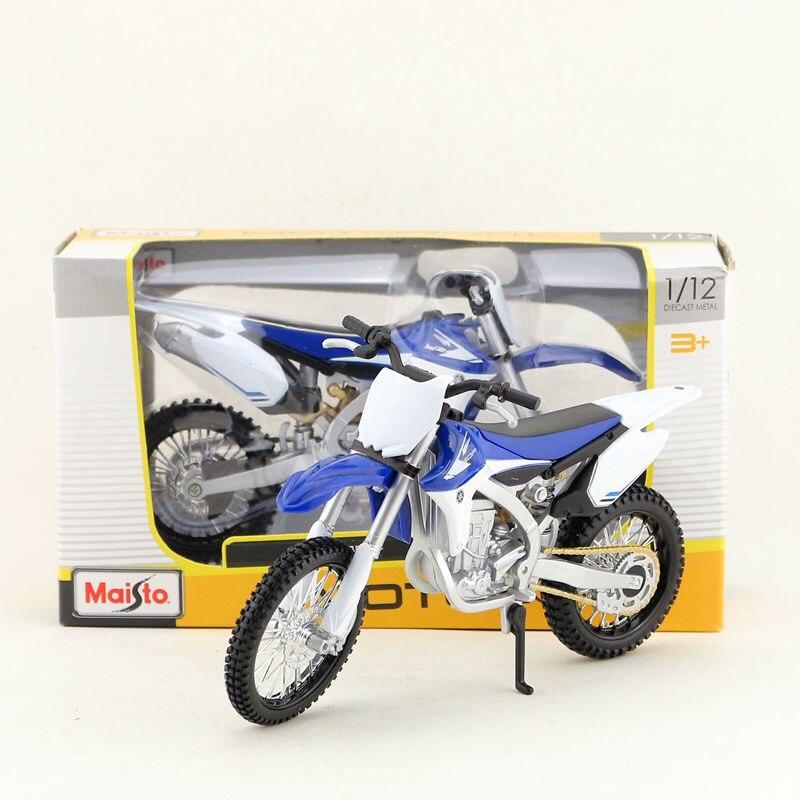 Maisto 1:12 Scale YAMAHA YZF450F Motorcycle Diecast Model Motobike Kid Toys