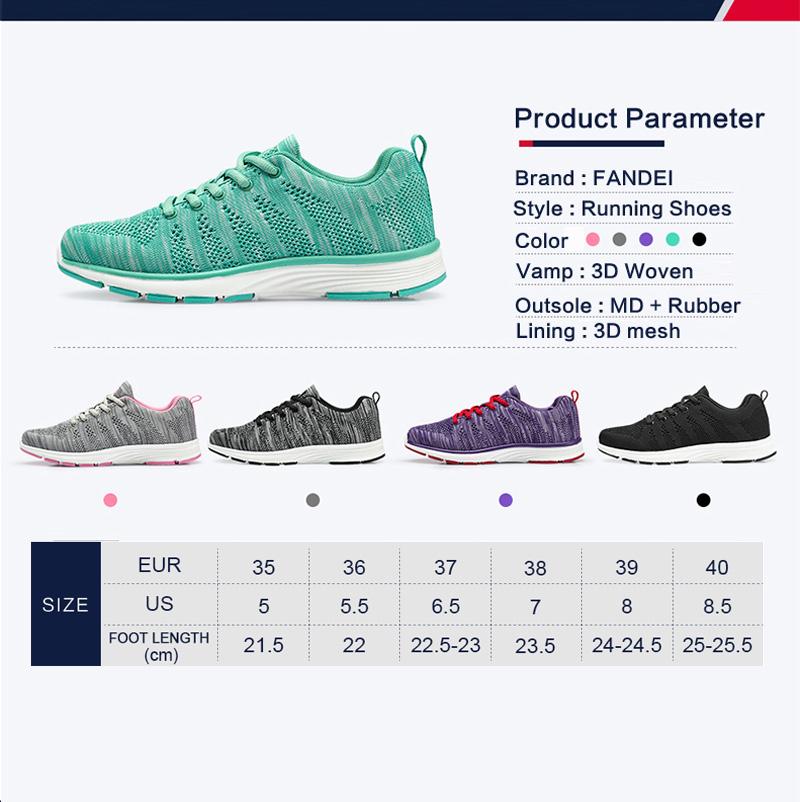 running shoes women sneakers women sport shoes women FANDEI 17 breathable free run zapatillas deporte mujer sneakers for girls 15