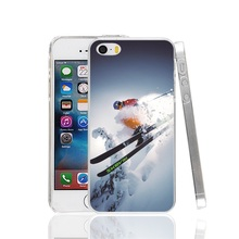 25646 Cool Alpine Skiing Cover cell phone Case for iPhone 4 4S 5 5S SE 5C 6 6S 7 Plus