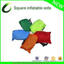OEM Manufacturer Inflatable Air Sofa Sleeping bag Over 200Kg 210D Nylon camping Outdoor Lazy Bag Air Bed Couch Chair lounge