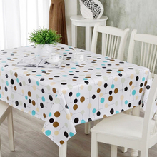 137*200cm Fashion Vintage Europe Japan Style Table Cloth PVC Tablecloth Dining Restaurant Cloth Table Cover Mat 19 Color