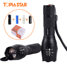 TOPIA STAR 5 Modes 3800 Lumen Military Grade Tactical T6 led Flashlight Factory Direct Sales led torch flashlight(China)