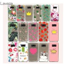 Lavaza 7FF Flowers Daisy Plants Fruit Cactus Hard Case for Samsung Galaxy S8 Plus S7 S6 Edge S5 S4 S3 S2 Mini Plus(China)