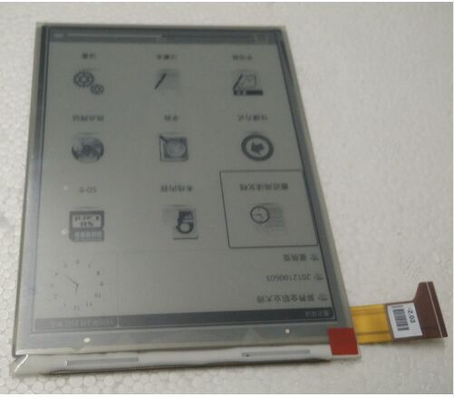 6inch lcd display screen For Digma E626 SPECIAL EDITION LCD Display Screen E-book Ebook Reader Replacement<br>