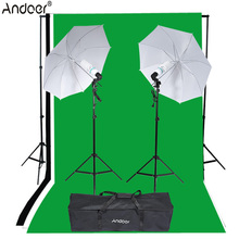 Andoer Photo Video Equipment Photography Lighting Kit Studio Portrait Product Light Tent Set Photo Studio Kit(China)