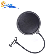 microphone pop filter microphone professional pop filter Studio WindScreen Pop Filter Double Layer Microphone Mask Shied filter