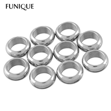 Stainless Steel Circle Jump Rings Hoop Diy Jewelry Findings Accessories For Jewelry Making (Hole Size:7.8mm) 10PCs 11.7mmx4.7mm