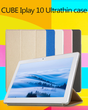 High quality cube iplay10  Fashion Case For CUBE iPlay 10 Tablet, Flip Stand PU Leather Case For 10.6""
