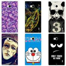 Cute Cartoon Case For Nokia Lumia 930 Cover HD UV Printing Hard Plastic Printed Phone Back Shell Capa Funda Newest Fashion