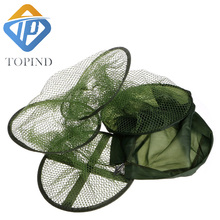 Collapsible Fishing Basket Dip Net Fishing Cage to Keep Fish Alive in the Water Fishing Accessories Tool
