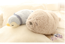 1pc 50cm sleepy pacify penguin sea lions dolphin sweet plush doll personality pillow novelty romantic girl stuffed toy