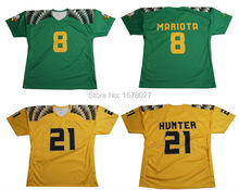 Amerian Custom Football Shirts Soccer Shirts with Sublimated Logos(China)