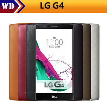 Original Unlocked LG G4 H815 H810 H818 Hexa Core Android 5.1 3GB+32GB 5.5 inch Cell Phone multi-color cover single/dual sim(China)