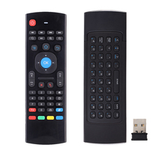 MX3 Air Mouse Wireless Mini Keyboard 2.4Ghz For mini pc HTPC Laptop Smart TV For T95 X96 Android TV Box Remote Control(China)