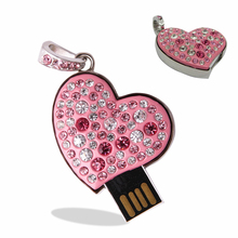 Metal diamond LOVE 128GB USB Flash Drive Real capacity 16GB usb flash drive 32GB pendrive personalized gift 64GB pen drive