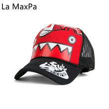 Adjustable Linkin Park Printed letters summer cap hip hop truck caps shark Bear claw Printed Snapback Hat Net Hats Baseball caps