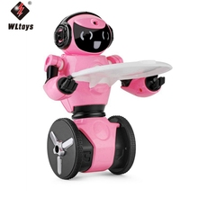 New Arrival WLtoys F4 WIFI Camera Intelligent Balance RC Robot Toys for Children Kids Christmas Gift Present VS JJRC R1 R2 R3(China)