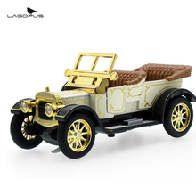 Mini Car Pull Back Zinc Alloy Car Model Toy 1:32 Scale Vintage Classic Toy Vehicle Cool New for Baby Gift Collections Brinquedos(China)
