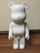 Limited Version 1000% bearbrick bear@brick 70cm DIY Paint PVC Action Figure White Color With Opp Bag
