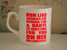 New The Walking Dead Daryl is waiting for you Quality Bone China Coffee Mug Cup ---Loveful