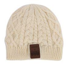 Winter Warm Unisex Soft Warm Hat Wireless Bluetooth Smart Headset Cap Headphone Speaker Mic
