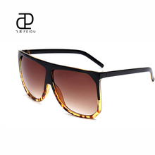 FEIDU 2016 Fashion Women Big box Sunglasses Retro Brand Designer Sun Glasses UV400 high quality Oculos De Sol Feminino(China)