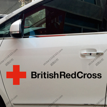 British Red Cross Society UK Car Truck Decal Sticker Vinyl Die cut You choose size and color!