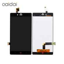 Lcd Display Touch Screen Digitizer  Assembly For ZTE Nubia Z9 Mini Nx511J Mobile Phone Replacement Part With Tools Free Shipping